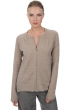 cashmere donna cardigan mareva natural brown chine bubble gum s