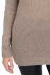 cashmere donna maglie spesse marielle natural brown chine xs