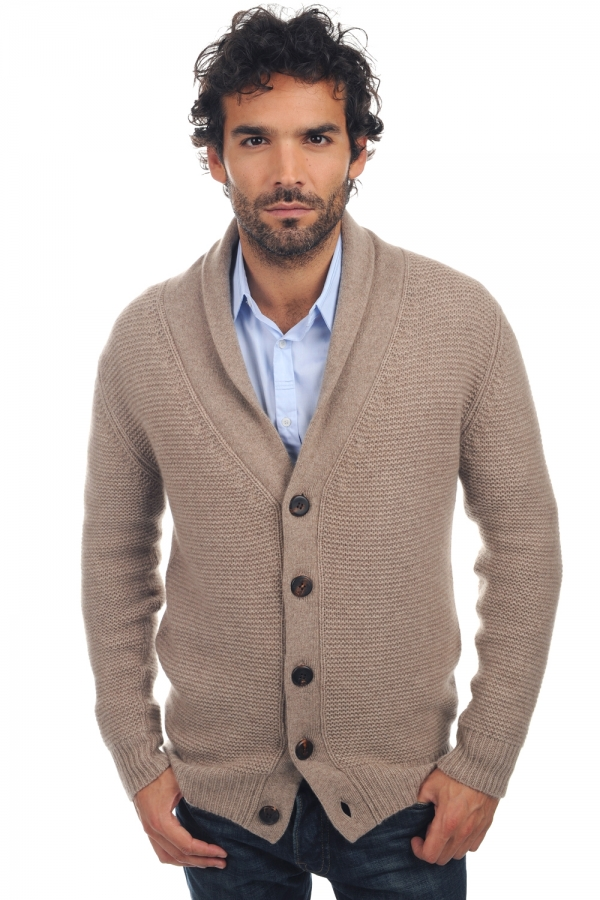 Cashmere uomo maglie spesse maxwell natural brown chine l