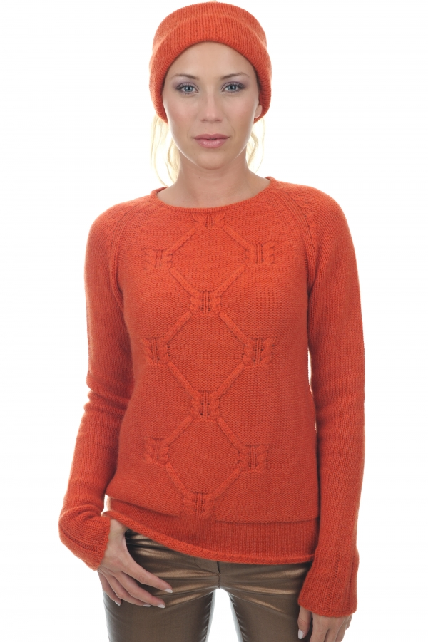 cashmere donna collo alto april paprika s