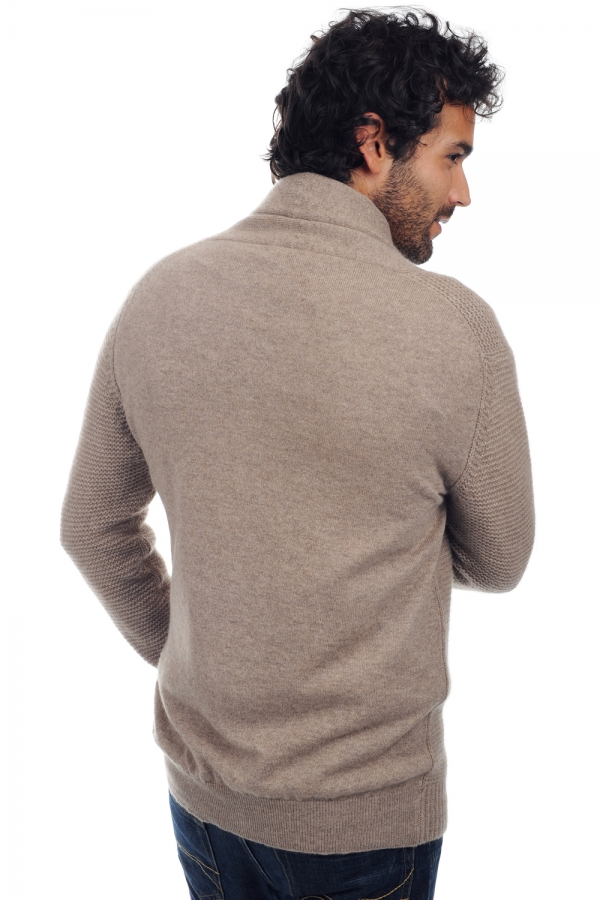 cashmere uomo maglie spesse maxwell natural brown chine s